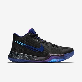 Nike Kyrie3 Flip The Switch 梦幻黑蓝断勾 852396-003