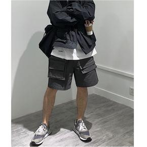 STS 2020 春夏 3D Cotton Shorts 多口袋短裤