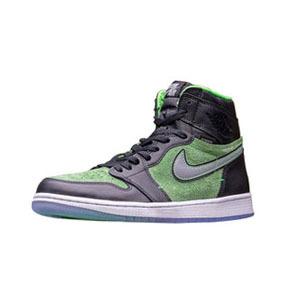 """预售!Air Jordan 1 High Zoom """"Rage Green"""" 黑绿篮球鞋 CK6637-002(2020.6.20发售)"""