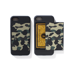 【定制】BAPE猿人头 防摔 可装卡 硅胶手机壳for iPhone6/7/PLUS