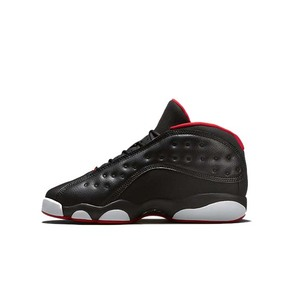 Air Jordan 13 Low Bred AJ13 GS 黑红低帮 310811-027
