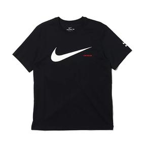 Nike Sportswear Swoosh 袖口双钩T恤 男款 CK2253-010