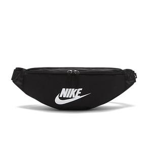 NIKE黑白单肩斜挎胸包男女运动腰包 BA5750-010