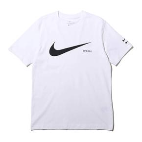 Nike大勾Swoosh新款双钩休闲运动男女短袖T恤 CK2253-100