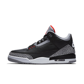 Air Jordan 3 Black Cement 黑水泥 854261-854262-001