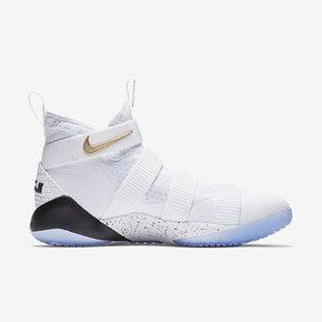 限时优惠!Nike LeBron Soldier11 LBJ士兵11实战篮球鞋 897644-101 897645-101