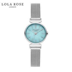 Lola Rose手表女时尚防水石英女士手表天河石小蓝表LR4119-1