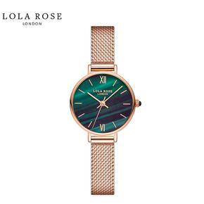 Lola Rose 时尚防水 石英女士手表 正品小绿表 LR4070-1