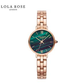 Lola Rose 防水石英女士手表 正品小绿表 LR4068-1
