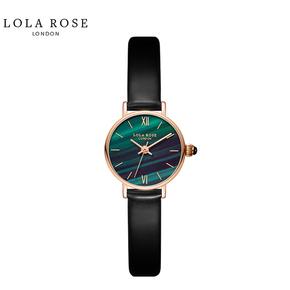 Lola Rose 手表女 时尚防水石英女士手表 正品小绿表 LR2128-1