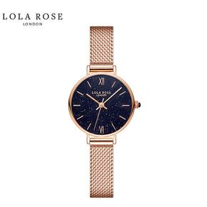 Lola Rose 手表女满天星时尚防水石英女士手表正品星空盘 LR4140-1