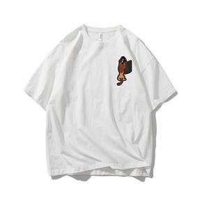 JOESPIRIT SUCK系 春夏 棉麻 复古欧美风 圆领运动T恤 多色可选 TC006010