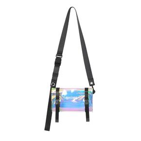 OXY 原创PVC透明斜挎包单肩包情侣腰包