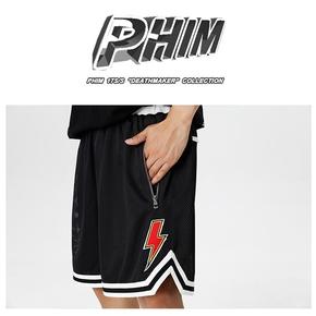 PHIM 网眼闪电贴布短裤 P17S-06