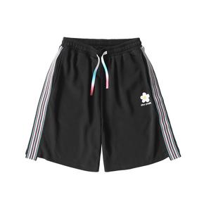 OXY 20ss春夏双色侧条纹织带短裤男女五分裤