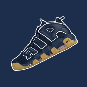 预售!Nike Air More Uptempo Obsidian 蓝生胶 921948-400