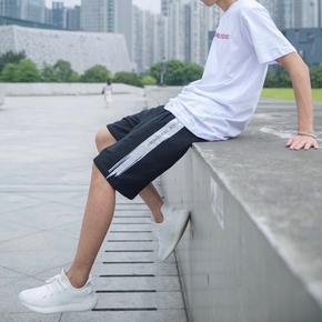 CONK 17SS V2刷漆字母印花宽松 运动五分裤短裤