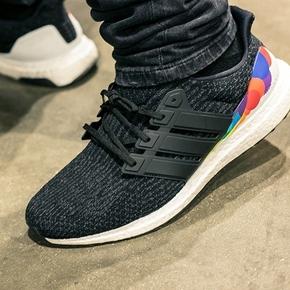 Adidas Ultra Boost 3.0 LGBT 彩虹 黑白 CP9632