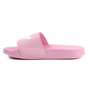 Adidas ADILETTE LITE 三叶草 凉拖鞋 粉白 FU9139