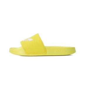 Adidas ADILETTE LITE 三叶草 凉拖鞋 黄白 FU9140