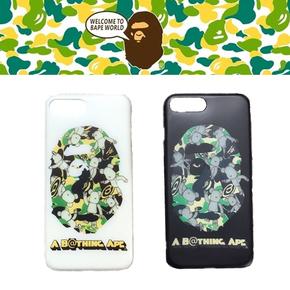 【定制】BAPE&暴力熊 夜光磨砂全包软壳手机壳for iPhone6/7/PLUS