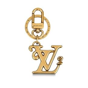 Louis Vuttion x Nigo 联名系列SQUARED LV 包饰与钥匙扣 MP2715