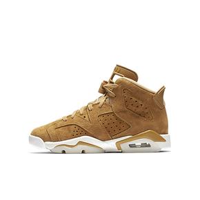 Air Jordan 6 Wheat AJ6 麂皮小麦色 篮球鞋 384665-705