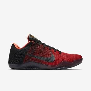1069元秒杀!Nike Kobe 11 Elite 首发配色 黑红 822675-670