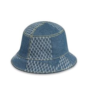 Louis Vuttion x Nigo 联名系列DAMIER GEANT WAVE MONOGRAM 遮阳帽