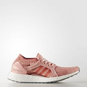 Adidas Ultra Boost X跑步鞋 樱花粉 BB3436
