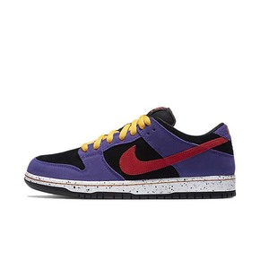 Nike Dunk SB low 黑紫 蝎子莱莱泼墨ACG低帮 BQ6817-008