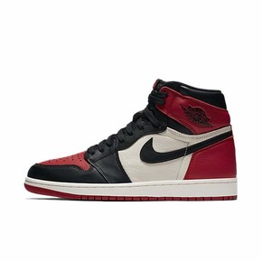 Air Jordan 1 OG Bred Toe 乔1 黑脚趾 红黑 555088-610 575441-610
