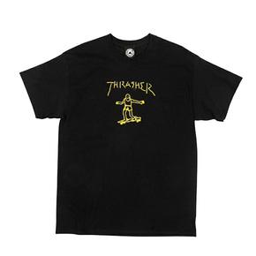 秒杀!王一博同款 Thrasher Gonz S/S滑板 玩家印花短袖