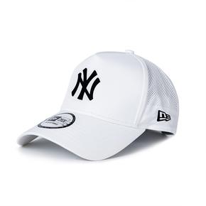 NEWERA 磨砂NY棒球帽彎檐可調節網眼透氣防曬 12359590