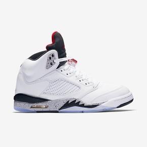 Air Jordan 5 AJ5 乔5 白水泥 篮球鞋 136027-104