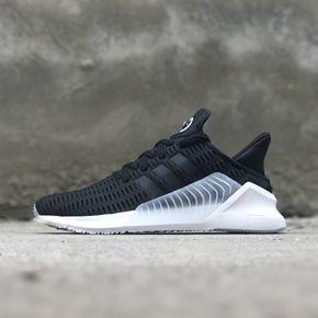 Adidas EQT Clima Cool 02/17 清风 透气跑步鞋 黑色 BZ0249