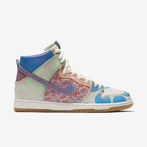 Nike SB What The Dunk High 鸳鸯 涂鸦拼接 918321-381