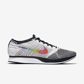 Nike Flyknit Racer Be True 六色彩虹 编织耐克跑鞋 902366-100