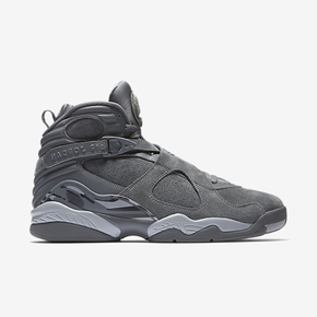 预售!Air Jordan 8 AJ8 Cool Grey 酷灰麂皮篮球鞋 305381-014