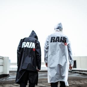 ENSHADOWER隐蔽者2017AW长款雨衣EVA