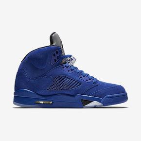 """预售!Air Jordan 5 """"Blue Suede"""" AJ5蓝麂皮 136027-401 440888-401"""