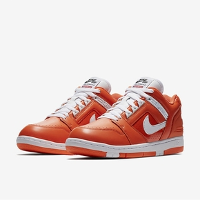 Nike Air Force Supreme联名 滑板鞋 橙色 AA0871-818
