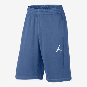 Nike Air Jordan 男子运动短裤篮球短裤 蓝色 809458-443
