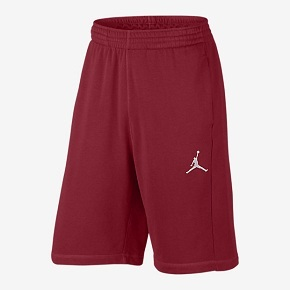 Nike Air Jordan 男子运动短裤篮球短裤 红色 809458-687