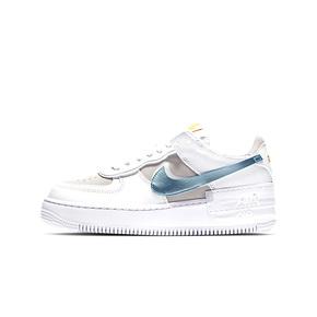 Nike Air Force 1 Shadow白灰 空军一号 厚底板鞋 DA4286-100