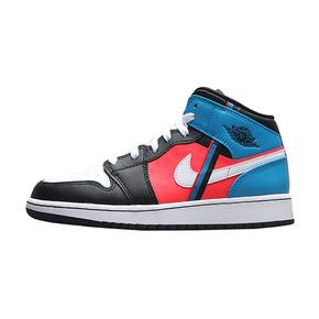 Nike Air Jordan 1 Mid GS 中帮 彩色拼接 CV4891-001