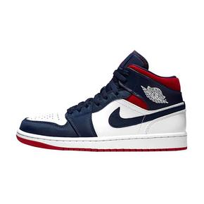Nike Air Jordan 1 Mid SE 美国队长 奥运海军蓝 852542-104