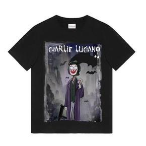 吴亦凡同款!Charlie Luciano 小丑印花T恤2020夏季新款男女同款情侣短袖