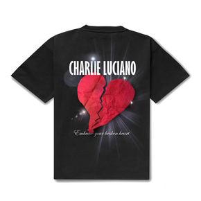Charlie Luciano 心碎标语tee