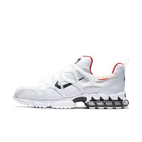 Nike x Stussy Air Zoom Spiridon 白红 复古跑鞋 CJ9918-100